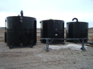 Custom 100 bbl storage tank
