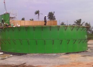 Bolted tank project in Nigeria from OilPro